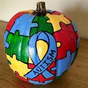 autism pumpkin